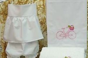 CHRISTENING BESTMEN GIRLS SET BICYCLE