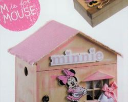CHRISTENING BOX MINNIES HOUSE PRS