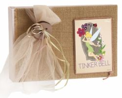 CHRISTENING WISH BOOK TINKERBELL