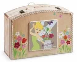 CHRISTENING WOODEN CLOTHES BOX TINKERBELL