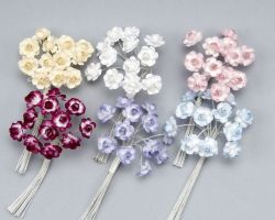 DECORATIVE PAPER FLOWERS MINI K16