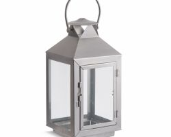 Decorative inox lantern