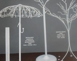 EQUIPMENT WIRE TREE UMBRELLAADFOR HANGERFAVORS