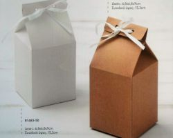 FAVOR PAPER BIG SQUARE BOX WHT-EGOL PRS16 1