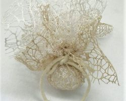 WEDDING FAVOR FF NET COTTON ROPE