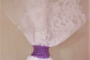 WEDDING FAVOR LEZA LACE LILA STRING