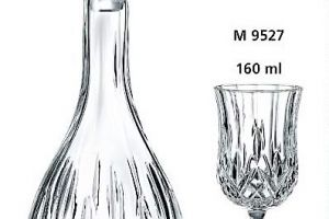 WEDDING SET BESTMAN ADO18 Μ9529 BOTTLE  GLASS
