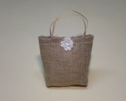BURLAP BAG FAVOR