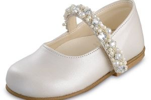 CHRISTENING GIRLS SHOES GRG 1
