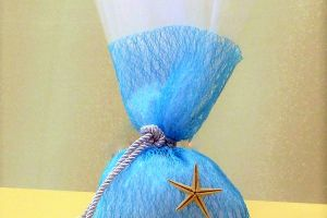 FAVOR BLUE NET POUCH SEASTAR