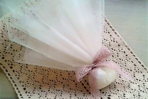 WEDDING FAVOR TULLES RIBBON LACE
